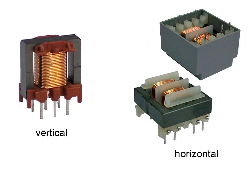 1.3. Трансформатори с ЕЕ феритна сърцевина.